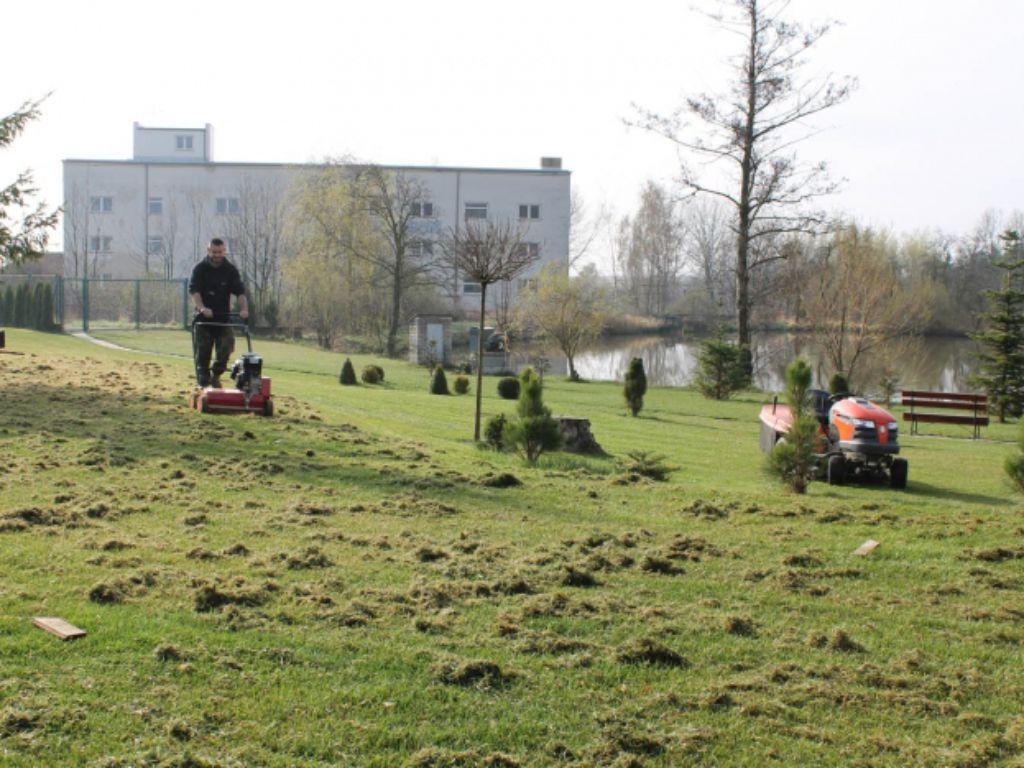 Celoroční údržba parkových ploch a veřejných prostranství