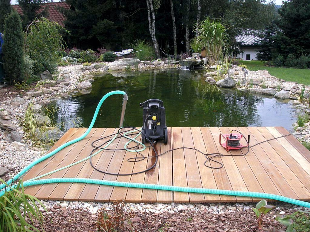 Péče o vodní plochy, kašny a fontány