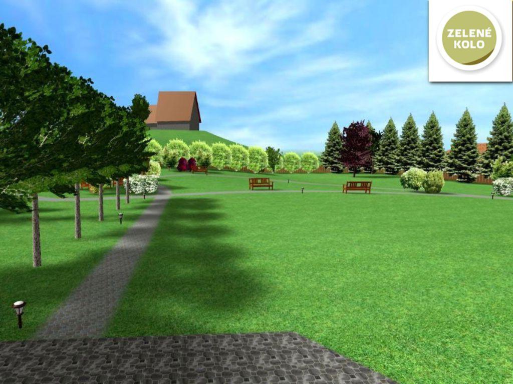 Revitalizace klidového parku u Jedlové hory