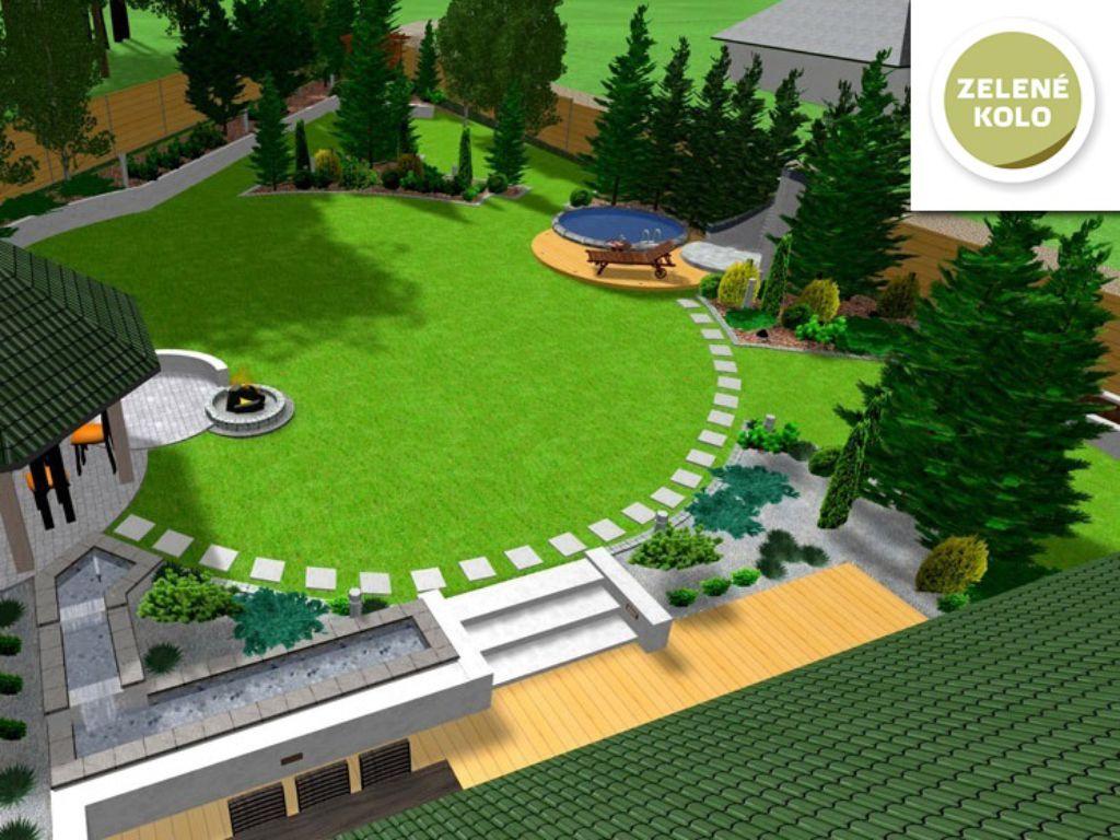 Vizualizace 3D zahrady