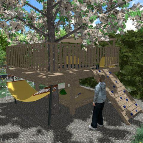 Herní prvky v zahradě